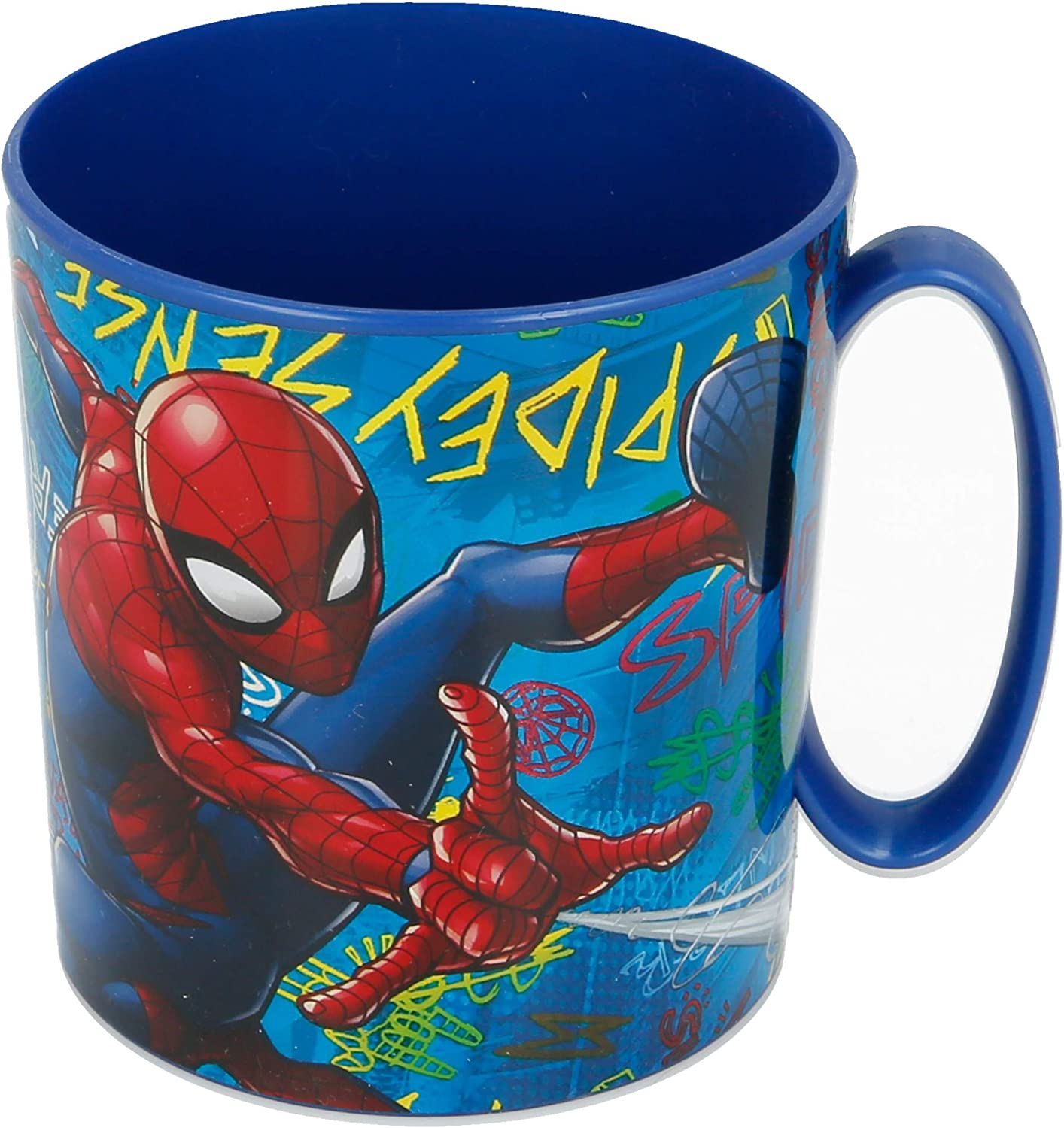 TAZA MICRO 350 ML | SPIDERMAN GRAFFITI
