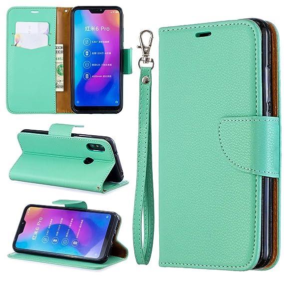 Amazon com: Xiaomi Mi A2 Lite Redmi 6 Pro Wallet Case