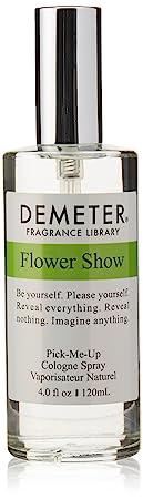 Demeter Unisex Cologne Spray, Flower Show, 4 Ounce