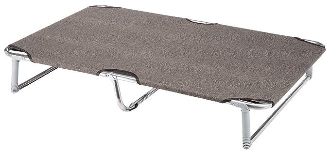 Feplast 70514989 Cama Plegable para Perros Dream 115, Estructura Plegable de Aluminio, Tela de Tejido, 119 x 79 x 7 Cm Tórtola: Amazon.es: Productos para ...