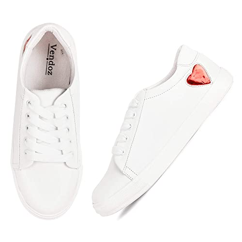 Stylish White Casual Shoes Sneakers