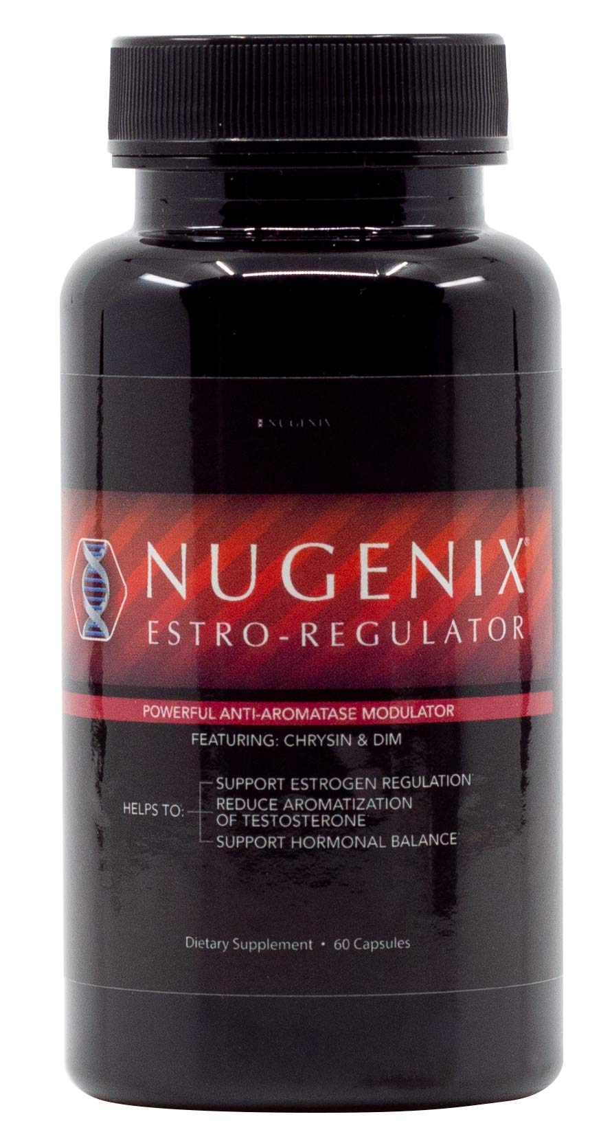 Nugenix Estro-Regulator - Power Estrogen Blocker, Boost Testosterone, Aromatase Inhibitor, DIM, Chrysin - 60 Capsules by Nugenix (Image #2)