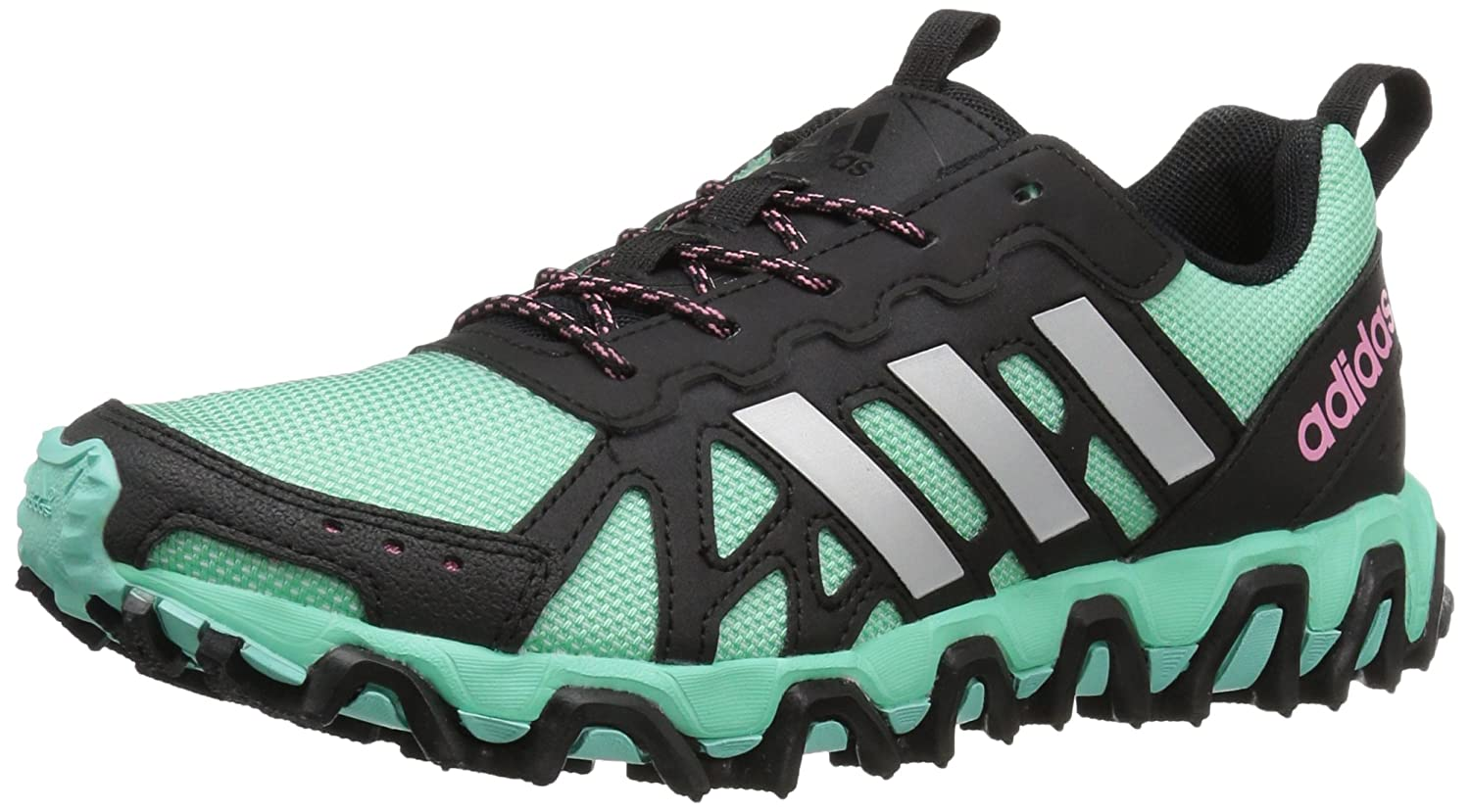 adidas Performance Women's Incision W Trail Runner B01H7Z5J7Y 11 B(M) US|Black/Metallic/Silver/Easy Green