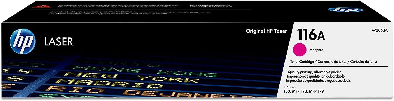 HP 116A   W2063A   Toner Cartridge   Magenta
