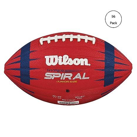 Wilson Hyper Espiral NFL Play 60 Junior tamaño American Football ...