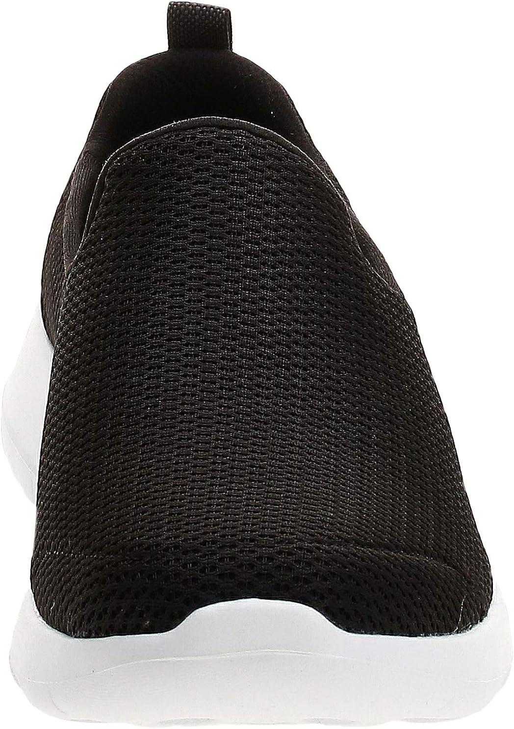 Skechers Men's Go Max-Athletic Air Mesh Slip on Walking Shoe Sneaker Black Black White