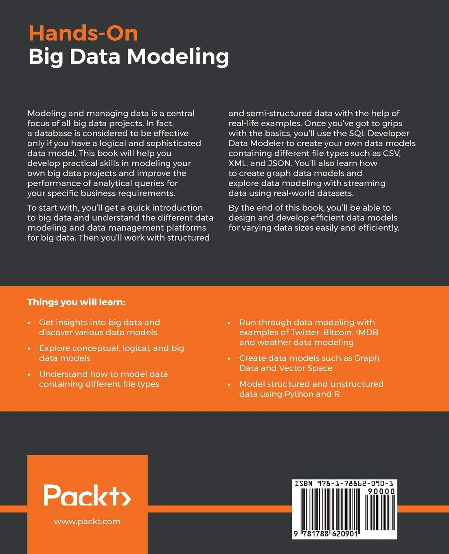 Buy Hands-On Big Data Modeling: Effective database design