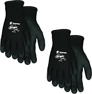 MCR Safety Memphis N9690M Ninja Ice Mechanic/Ice Fish Glove, Size Medium (2 Pair)