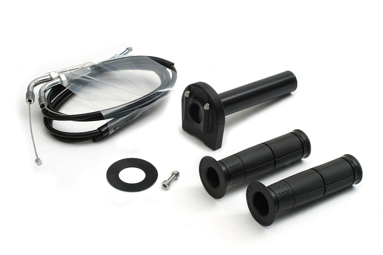 アクティブ(ACTIVE) 汎用スロットルキット[TYPE-3] ブラック 巻取径φ40 ワイヤー1050mm 1063432 B0037K7NIC ワイヤー : 1050mm|ブラック|巻取径 : φ40 ブラック ワイヤー : 1050mm