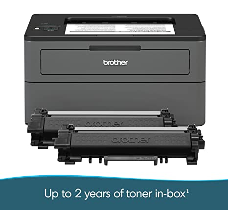 Amazon.com: Brother Compact Monochrome Laser Printer, HL ...