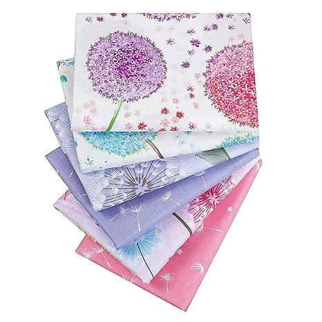 6 piezas gris 40 cm x 50 cm parte superior algodón Craft ...