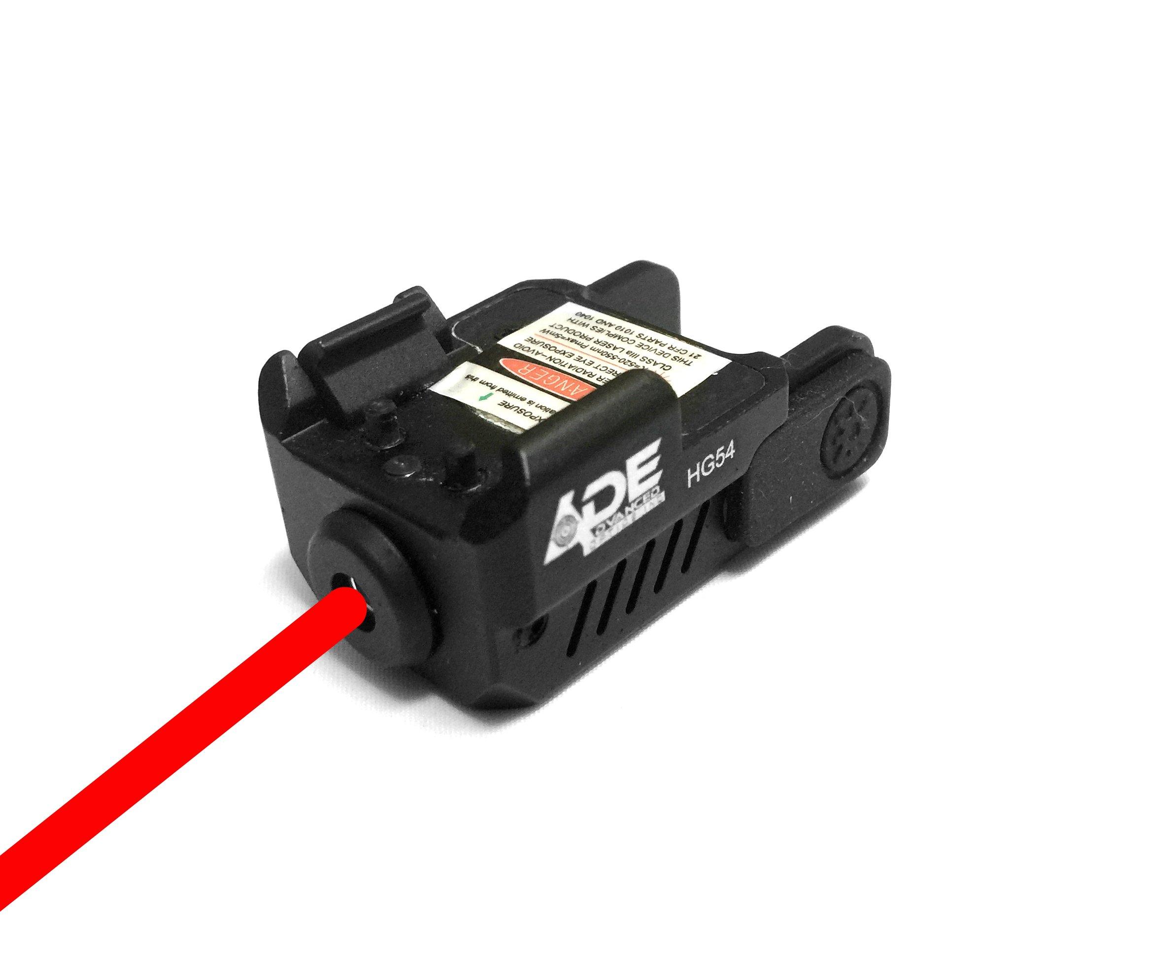 Ade Advanced Optics HG54R-1 Universal Laser Sight, Red by Ade Advanced Optics