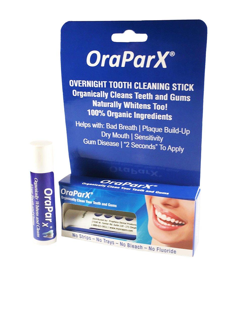 Amazon Com Oraparx 100 Organic Tooth Gum Cleansing Plus All
