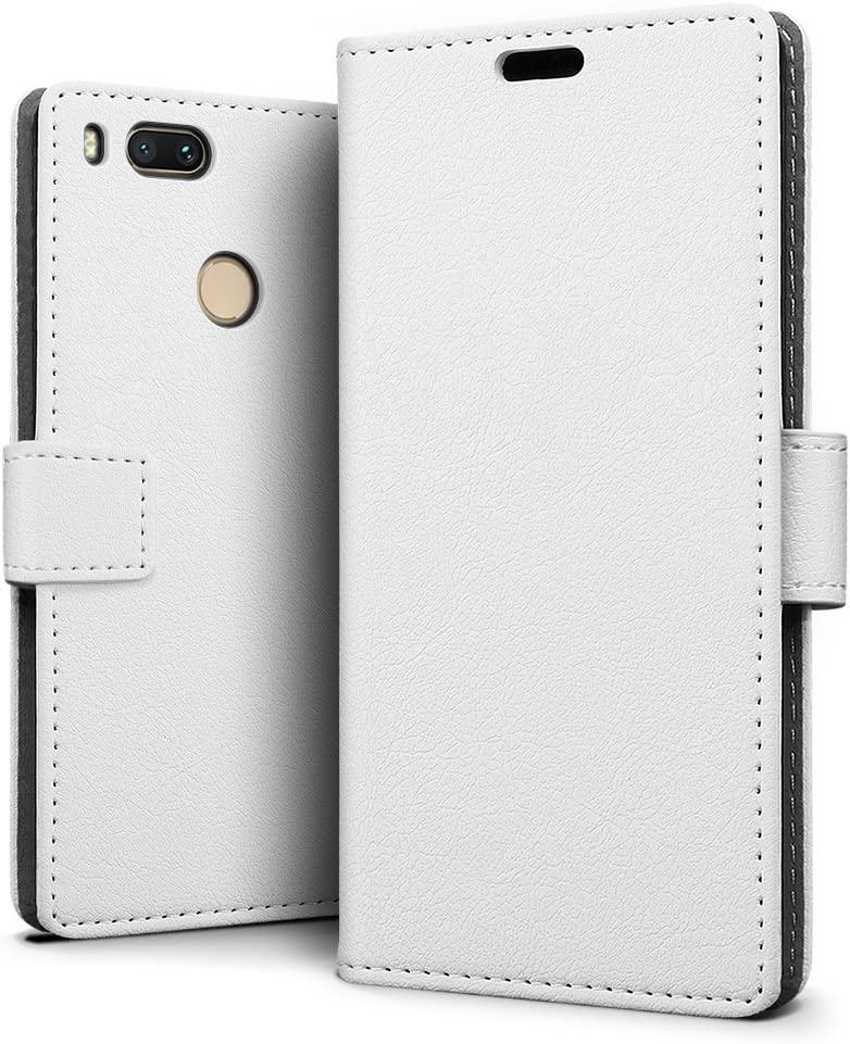 SLEO Funda para Xiaomi Mi 5X / Xiaomi Mi A1 Slim Cartera Carcasa ...