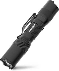 ENERGIZER LED Tactical Flashlight, IPX4 Water Resistant, Super Bright, Heavy Duty Metal Body, Built For Camping, Outdoors, Emergency, Batteries Included