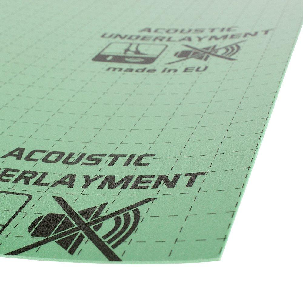 Perfect Mat LVT Acoustic 1.5mm Underlayment 64.65sq.ft. Package