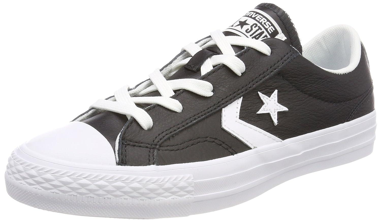 Converse Unisex-Erwachsene Star Player OX schwarz Weiß Turnschuhe