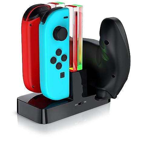 CSL - Estación de Carga Nintendo Switch para los Joy-Con - 4 ...