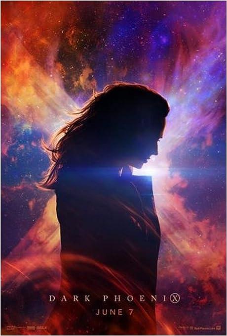"""Dark Phoenix Movie Poster Jean Grey X-Men 2019 Art Film 13x20 24x36 27x40/"""" Print"""