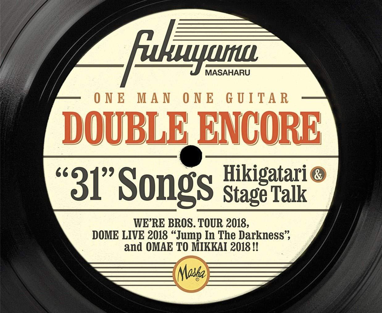 DOUBLE ENCORE(初回限定盤Blu-ray)(4CD+Blu-ray付)