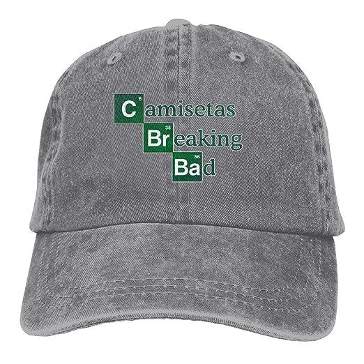 Buecoutes Camisetas-br-Bad Premium Cowboy Baseball Caps Dad Hats Ash