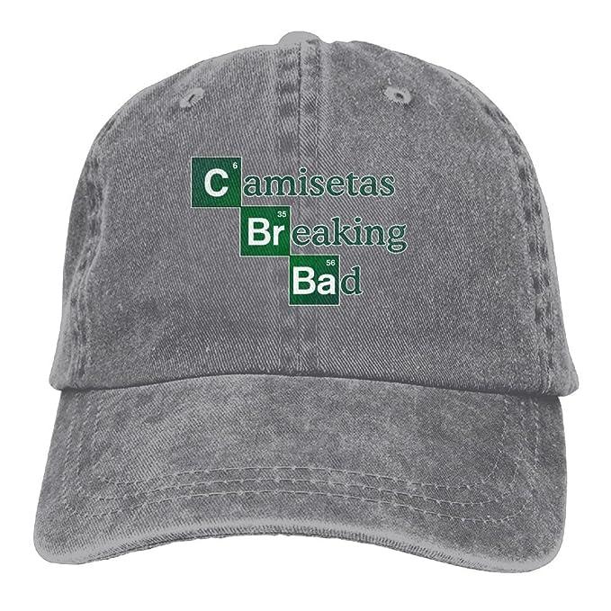 Amazon.com: Buecoutes Camisetas-br-Bad Premium Cowboy Baseball Caps Dad Hats Ash: Clothing