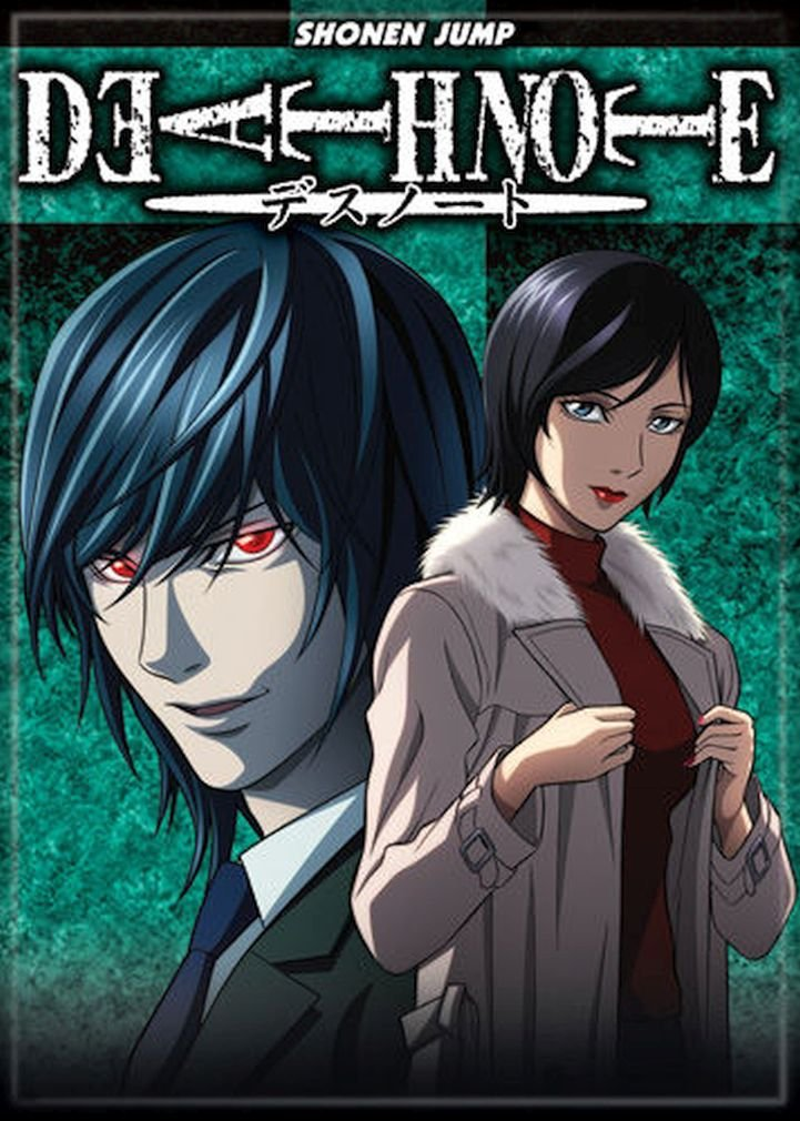 Ata-Boy Death Note Mello 2.5 x 3.5 Magnet for Refrigerators and Lockers