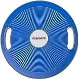 ScSPORTS® Balance-Board mit Griffen Ø 40 cm Therapiekreisel Wackelbrett Balance-Trainer Gleichgewichtskreisel