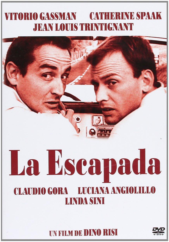La Escapada [DVD]: Amazon.es: Vittorio Gassman, Catherine Spaak, Jean-Louis Trintignant, Claudio Gora, Luciana Angiolillo, Linda Sini, Dino Risi, ...
