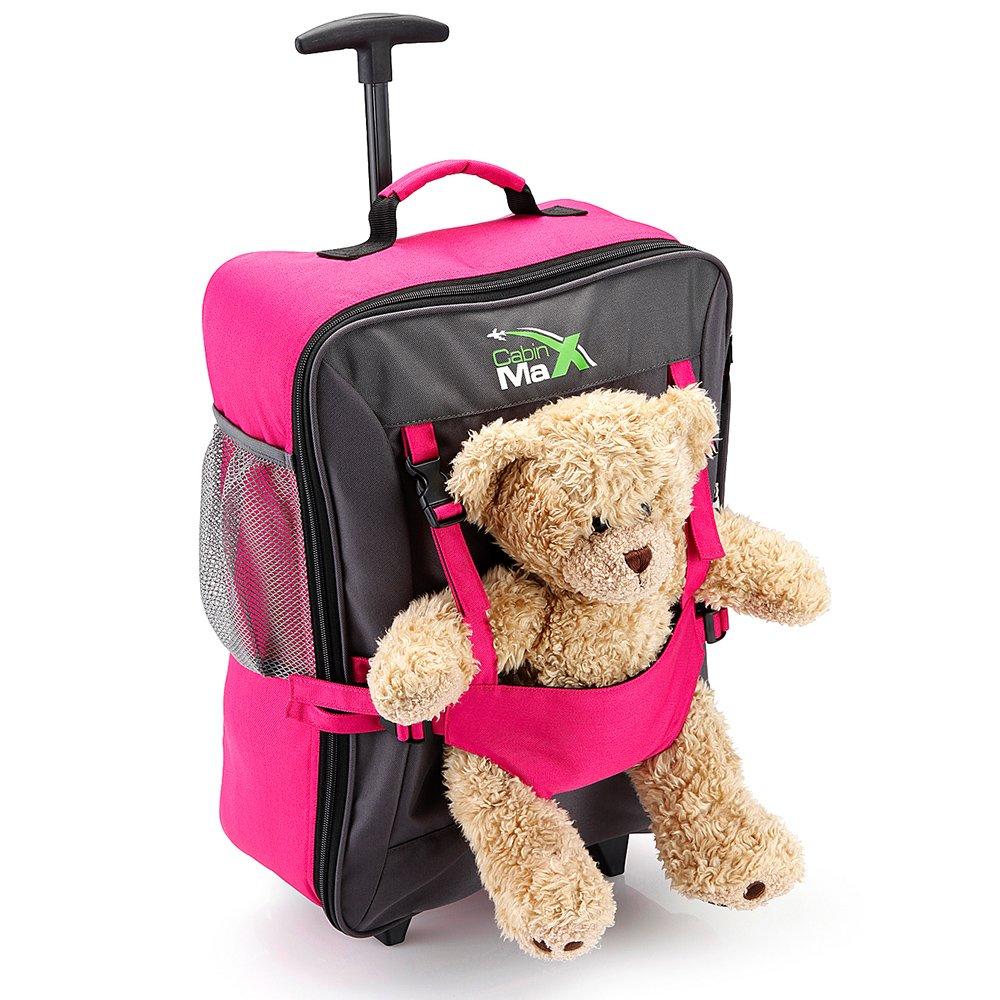 Cabin Max , Unisex - Kinder Kinderrucksack Rose carry-on BearPink