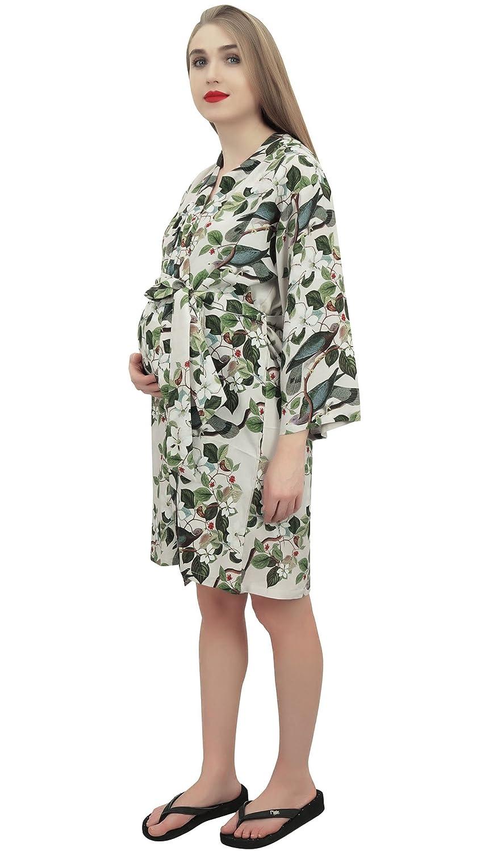 Bimba Estampado de Maternidad Roto para Mama con Cinturon de Dormir: Amazon.es: Ropa y accesorios