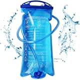 SiGuTie Hydration Bladder Water Reservoir 2 Liter 3 Liter 1.5Liter Leak Proof Water Bladder Bag BPA Free Fits for Backpack for Hiking Biking Climbing Cycling Running