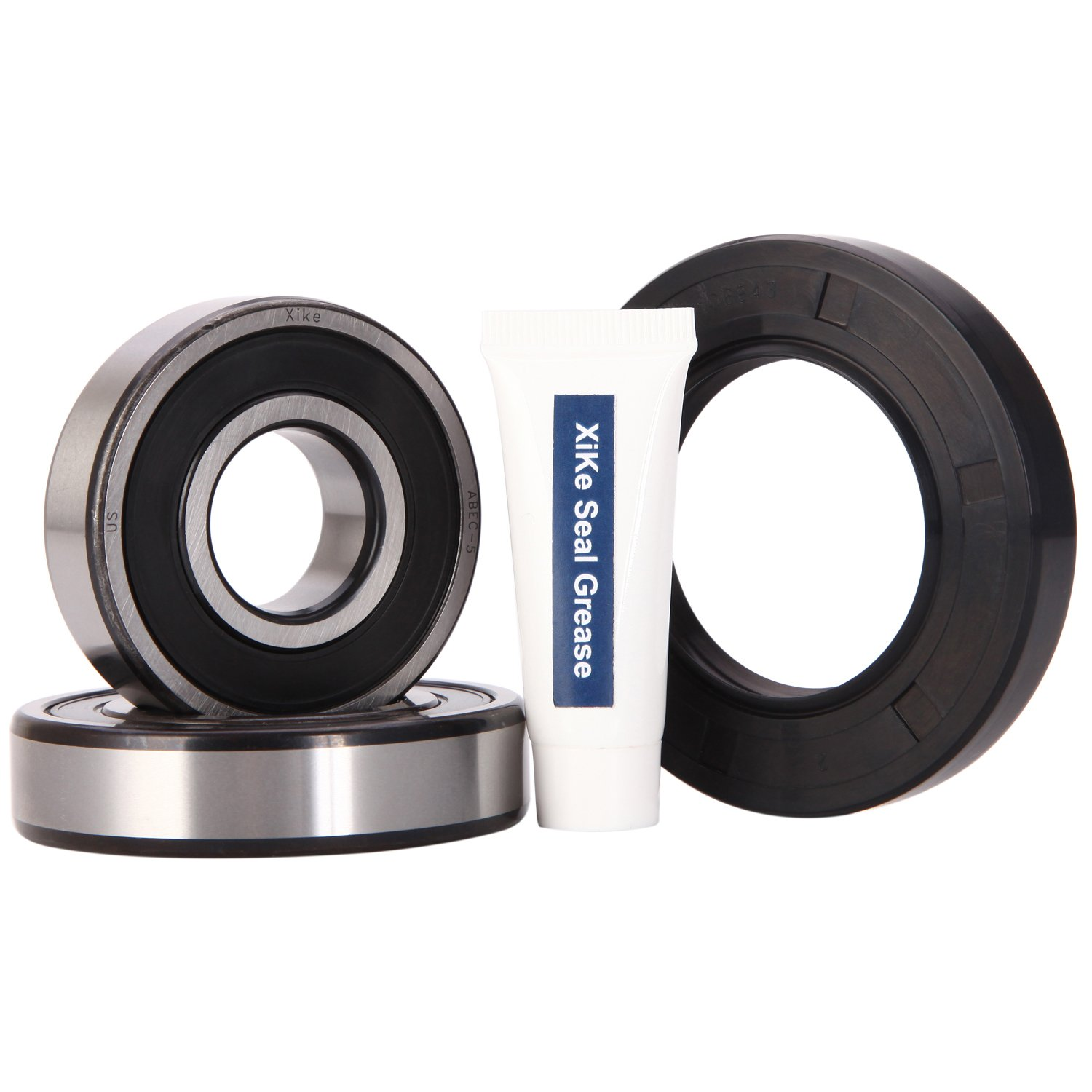 XiKe 134509510 Front Load Washer Tub Bearing & Seal Kit, Rotate Quiet and Durable Replacement for Frigidaire, Kenmore, Crosley Washer, AP3892114, 1191144, 134509500 Etc. by XiKe (Image #1)