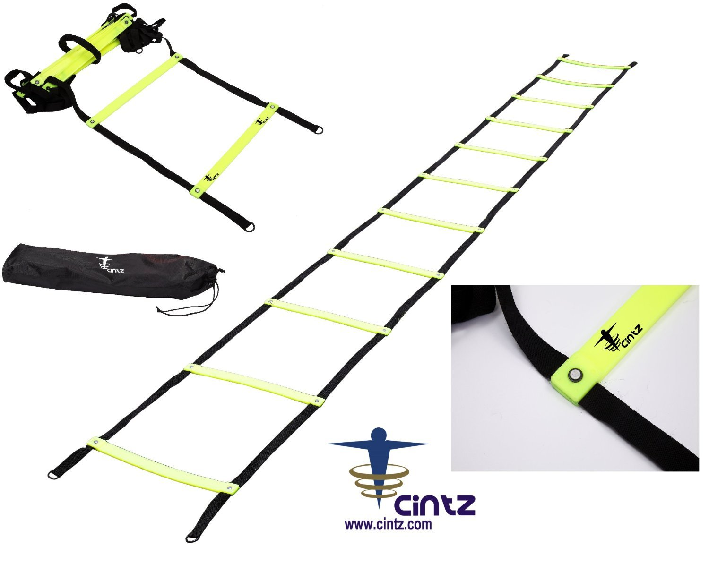 Cintz Fixed Rungs Speed Agility Ladder, 30'