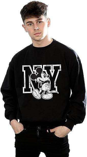 Disney hombre Mickey Mouse NY Kicking Camisa De Entrenamiento ...