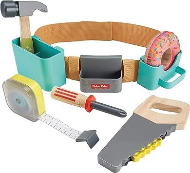 Fisher-Price DIY Caja de herramientas, juguetes construcción niños ...