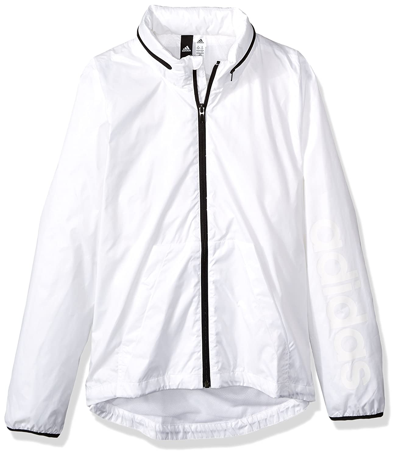 Adidas Women's Linear Windbreaker Jacket BR1096-PARENT
