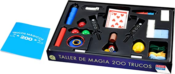 Caja Magia 200 trucos, Juego de Mesa, Magia: Amazon.es: Juguetes y juegos