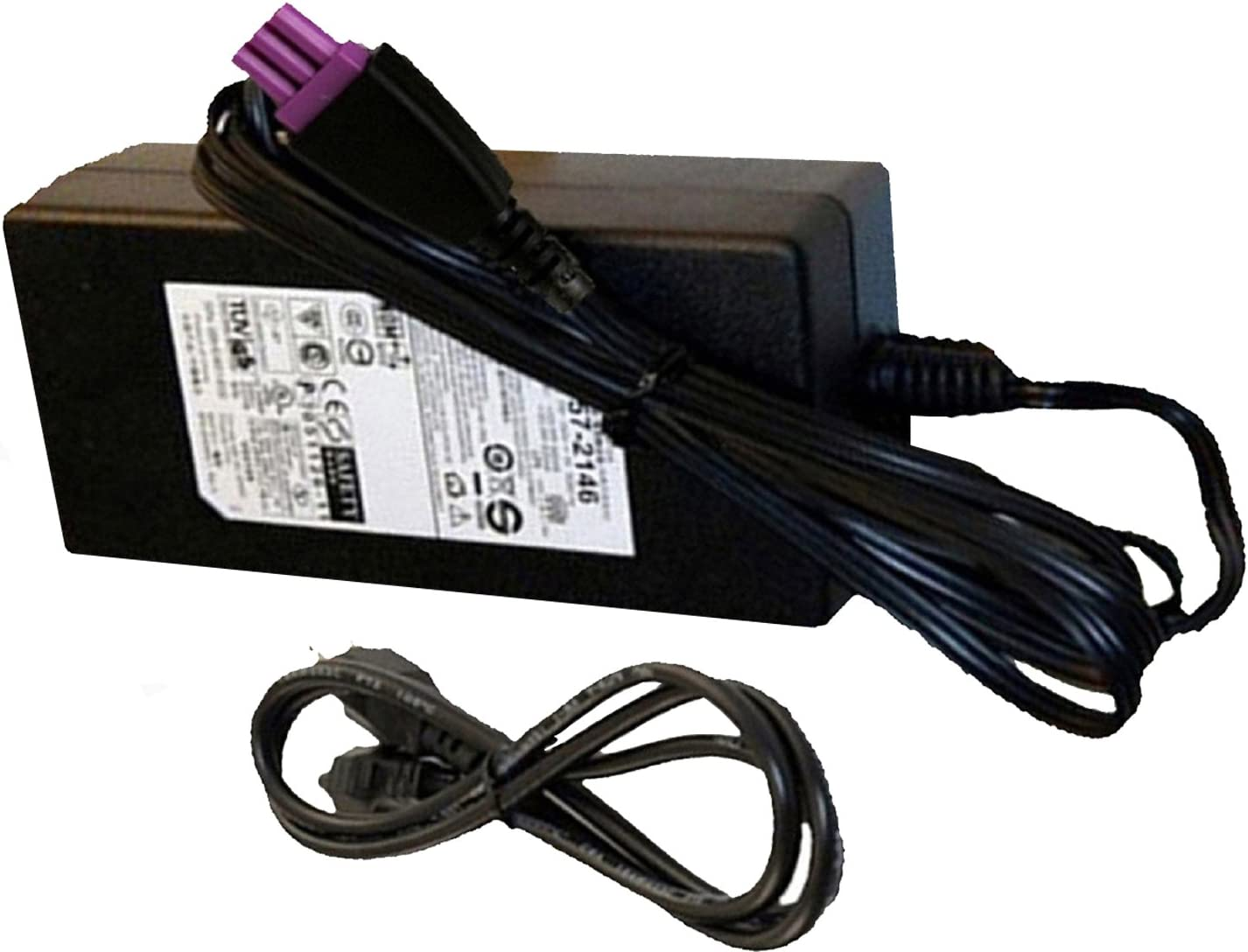 UpBright AC Adapter Replacement for HP 0957-2286 1050 1000 2050 OfficeJet J4000 J4524 J4580 J4624 J4660 J4680 F2418 F4488 k109a J4500 4500 Deskjet 2512 3000 3015A 3050A J610A Photosmart D110 Printer