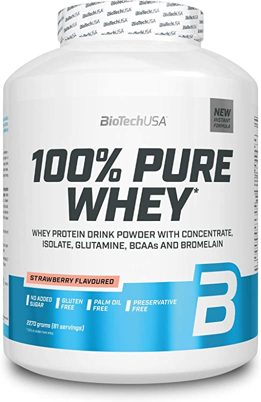 BioTechUSA 100% Pure Whey Complejo de suero de leche con ...