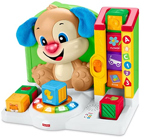 Amazoncom Fisher Price Laugh Learn First Words Smart Puppy Toys
