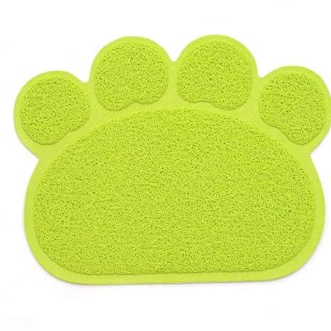 Cat Litter Mat PVC Forma de Garra Cojín del Pie del Gato ...