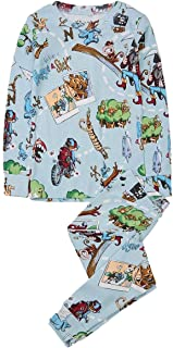 product image for Books to Bed Pajamas The Epic Adventures of Huggie & Stick - Toddler and Big Kids Pjs