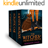 Three book Witch Cozy Mystery Boxset - Witches of Hemlock Cove: Halloween Mystery Cozy Boxset (English Edition)