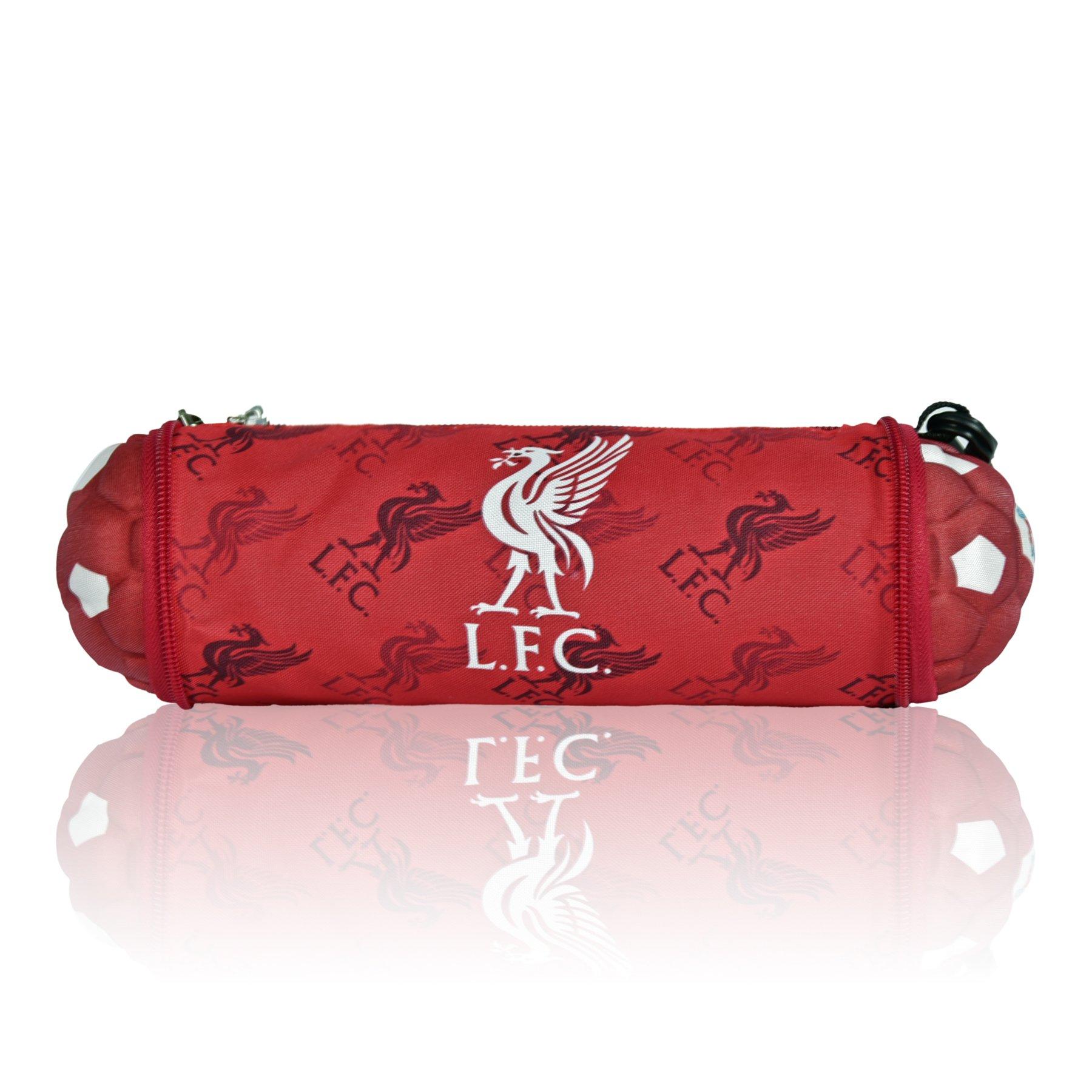 Liverpool FC Soccer Ball Pencil Case
