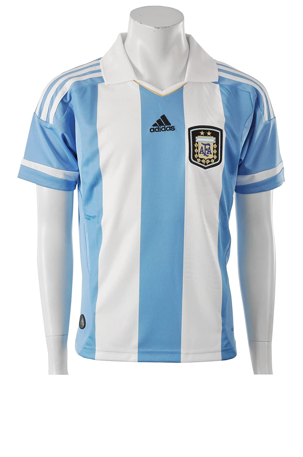 Adidas Argentina Home Jersey Youth 2011/13-176: Amazon.es ...