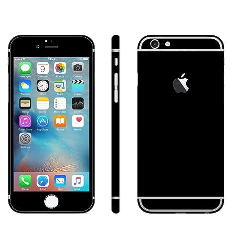 Iphone 6 6s Schwarz Matt Folie Skin Zum Aufkleben Bumper Case Cover Schutzhülle I Phone