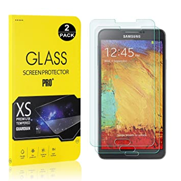SCREEN PROTECTOR FILM FOR SAMSUNG GALAXY NOTE 3 TEMPERED GLASS PREMIUM CLEAR