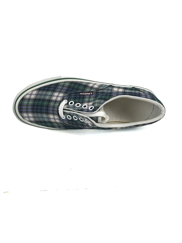 El Charro Vintage Canvas scarpe scarpe scarpe da ginnastica Tartan verde 36 03e249