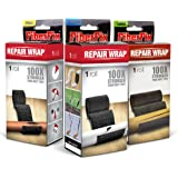 "FiberFix 1"", 2"" & 4"" Repair Tape Wrap - 3 Pack - Fix Anything with Permanent Waterproof Repair Tape 100x Stronger than Duct Tape"